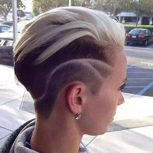 头发这样剪才酷, 雕发纹身了解一下