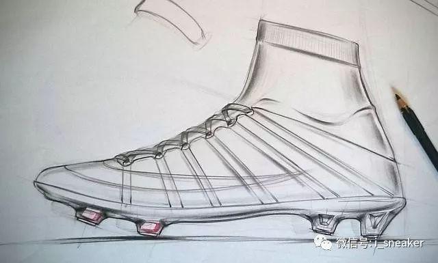 时尚 正文  跑鞋设计手绘,马克笔上色,有高清细节图,看看细节处理