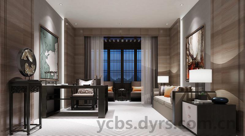 新中式风格窗帘,原来是这样选的图片
