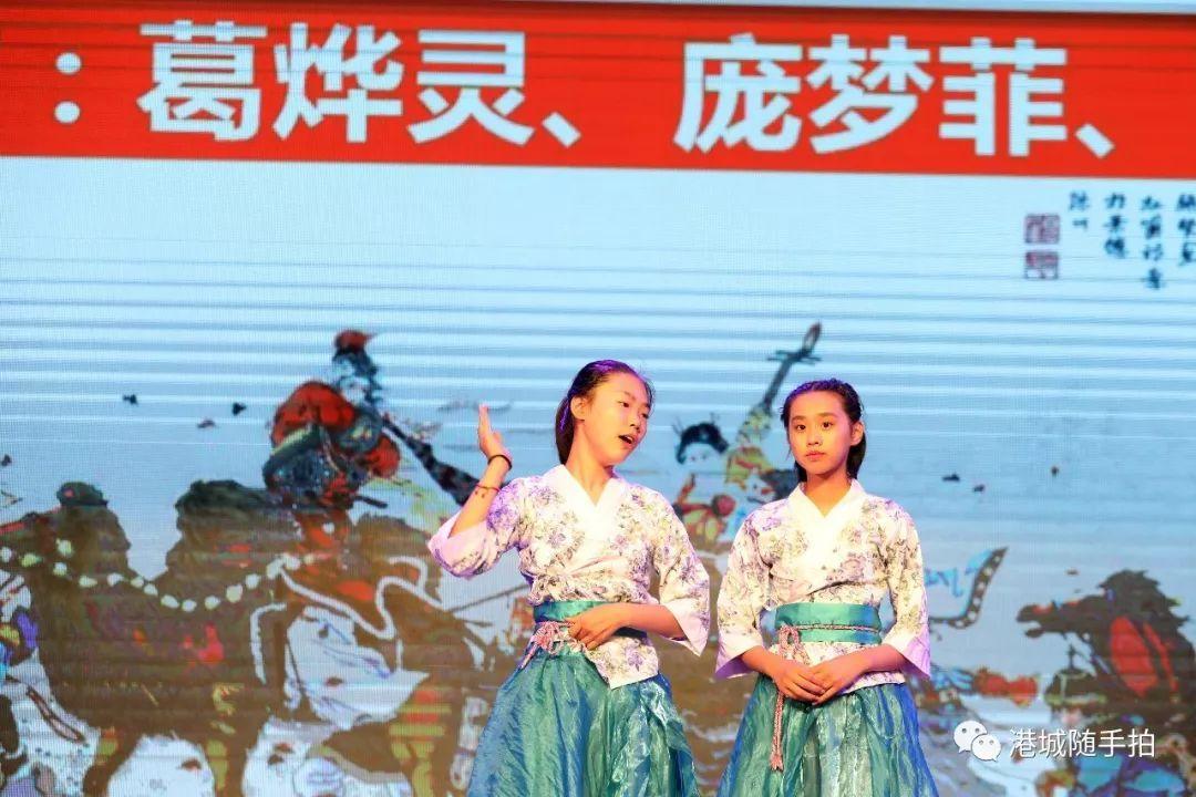 六(4)班的诗朗诵《少年志 中国梦》.