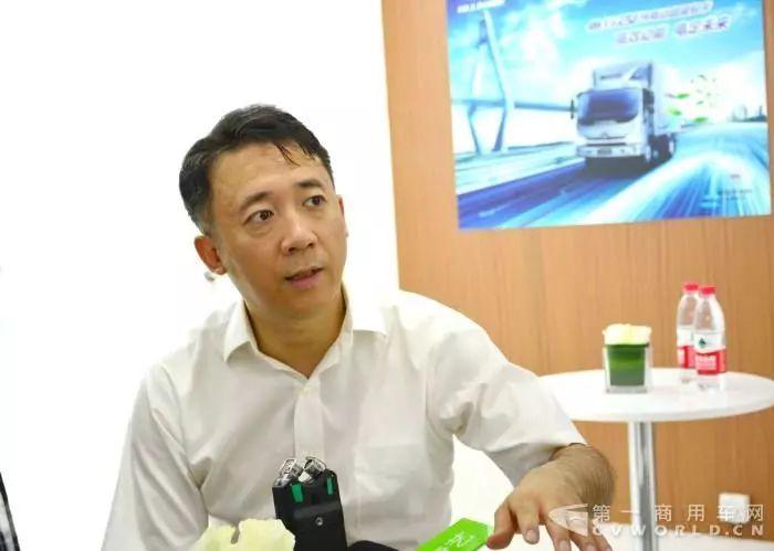 福田汽车李健:发力新能源领域 全线布局创新升级丨第一访谈