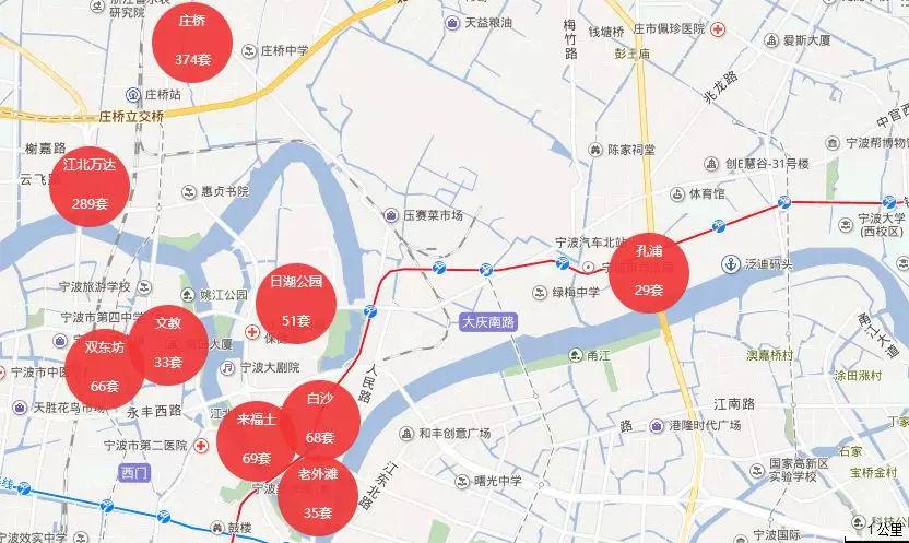宁波老外滩手绘地图