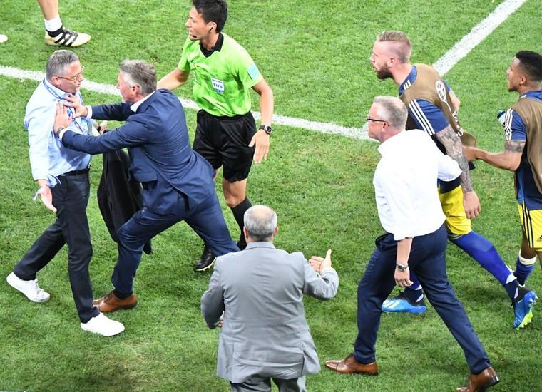 绝杀逆转后庆祝惹争议 德国足协:已向瑞典道歉