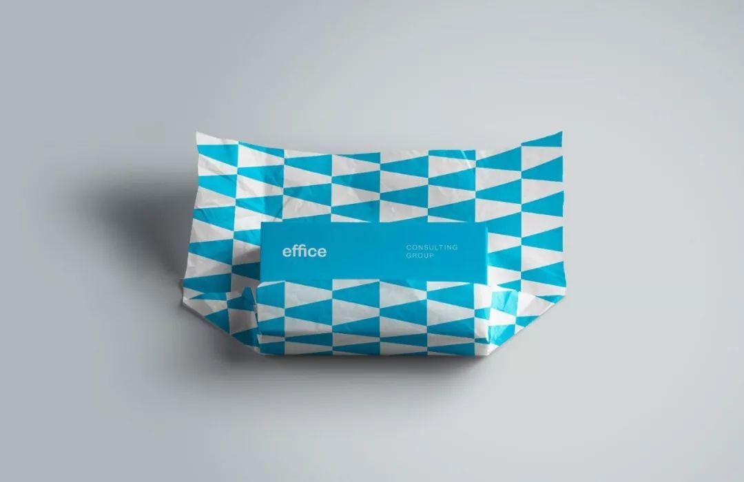 """#作为一个#咨询公司""""Effice Consulting""""品牌形象设计,"""