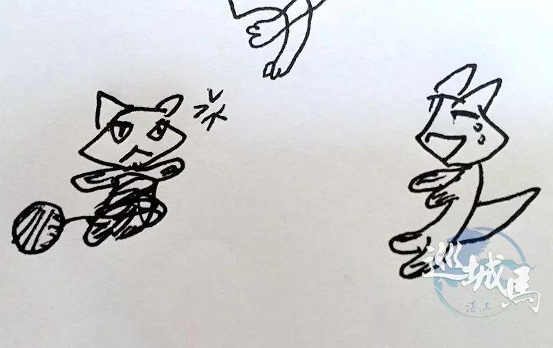 网友们给个意见,看从未学过画画的八岁孩子作的画怎样