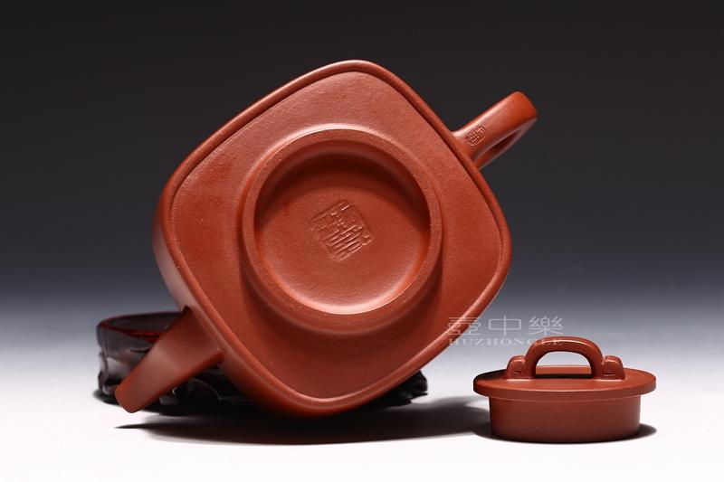 宜兴紫砂壶-研高鲍正兰紫砂壶底章-趣淘壶