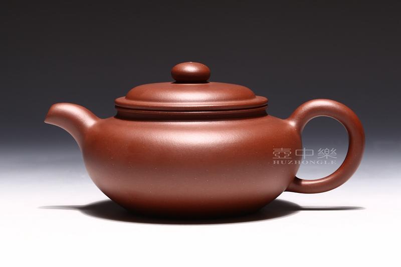 宜兴紫砂壶-研高鲍正兰紫砂壶-大仿古-趣淘壶