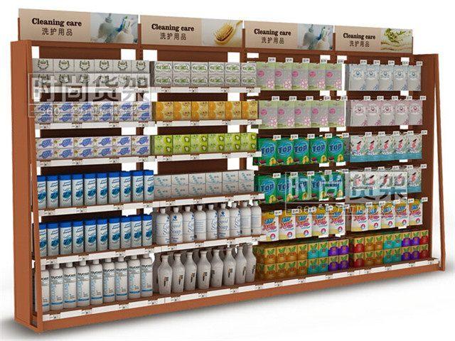 小超市货架摆放技巧图片欣赏 5款便利店货架尺寸摆放设计图片 秀居网图片