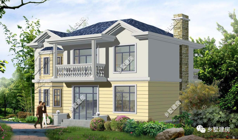 求80平米农村自建房设计图