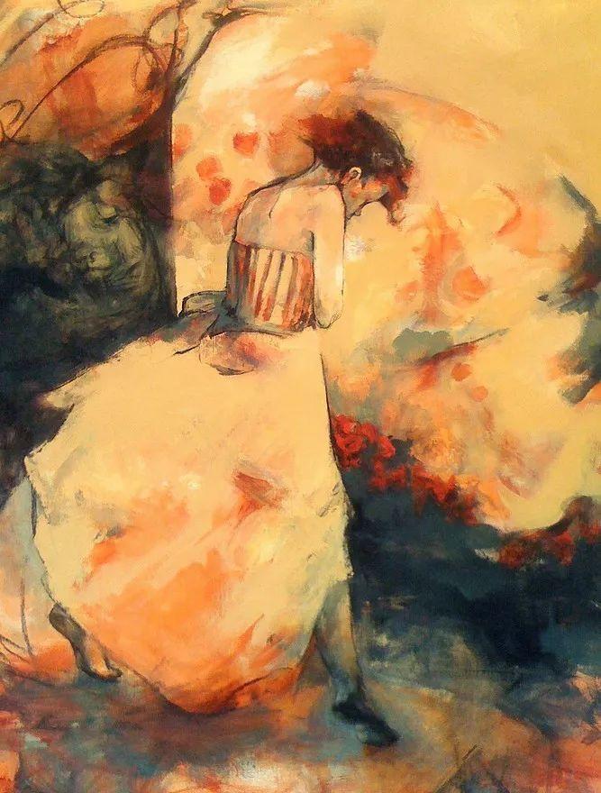德国顶级人体艺术_德国当代女艺术家昆泽油画作品欣赏