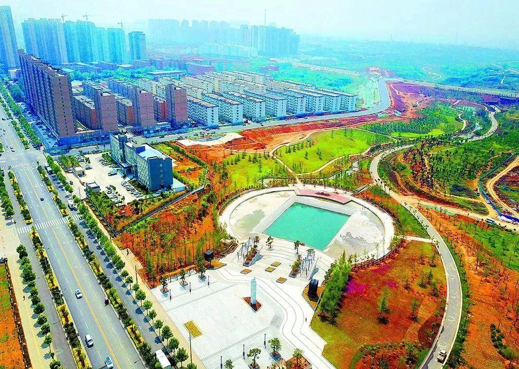 最新孟津新区规划图
