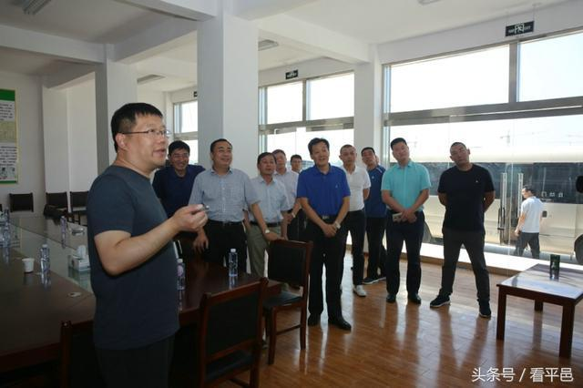 市林业局局长赵森带队来平邑县考察图片