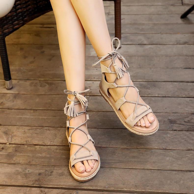 凉鞋交叉女