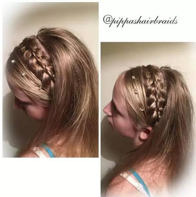创意儿童编发造型 让你的公主与众不同的美!