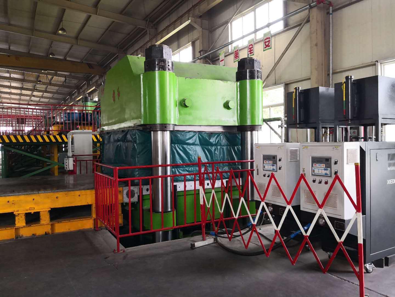 橡胶硫化模温机案例分享-携德机械