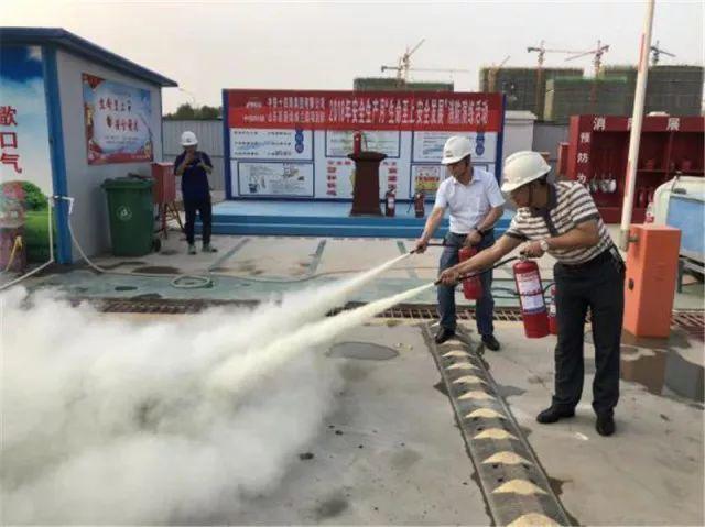 鲁南高铁项目部开展安全月防洪应急演练活动