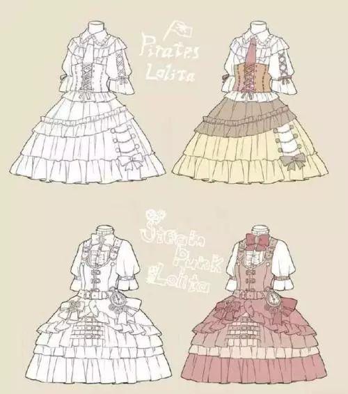 穿着lolita洋装的小姐姐常被称为lo娘.图片