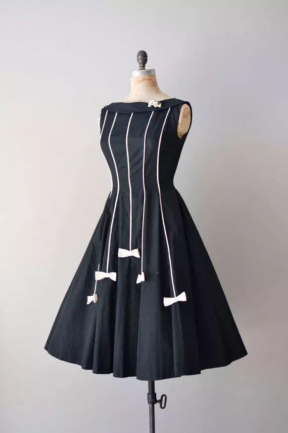 复古礼服裙| 1950'S,现在看依然很仙!80 作者:千叶老师 帖子ID:2709