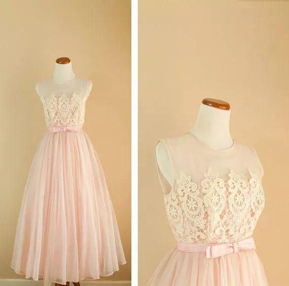 复古礼服裙| 1950'S,现在看依然很仙!60 作者:千叶老师 帖子ID:2709