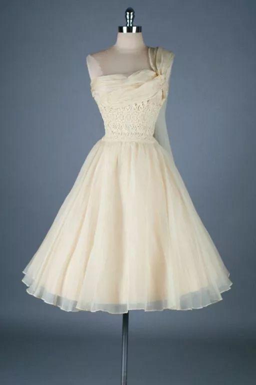 复古礼服裙| 1950'S,现在看依然很仙!8 作者:千叶老师 帖子ID:2709