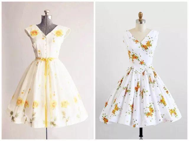 复古礼服裙| 1950'S,现在看依然很仙!100 作者:千叶老师 帖子ID:2709