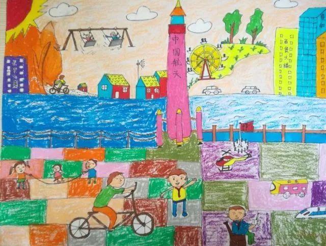 """""""我与爸妈比童年""""手绘作品展示活动,让少年儿童切实感受邹城改革开放"""