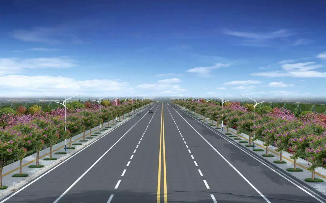 公路 效果图