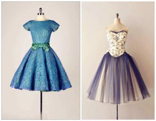 复古礼服裙| 1950'S,现在看依然很仙!39 作者:千叶老师 帖子ID:2709