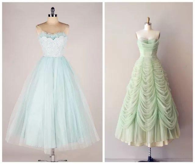 复古礼服裙| 1950'S,现在看依然很仙!71 作者:千叶老师 帖子ID:2709