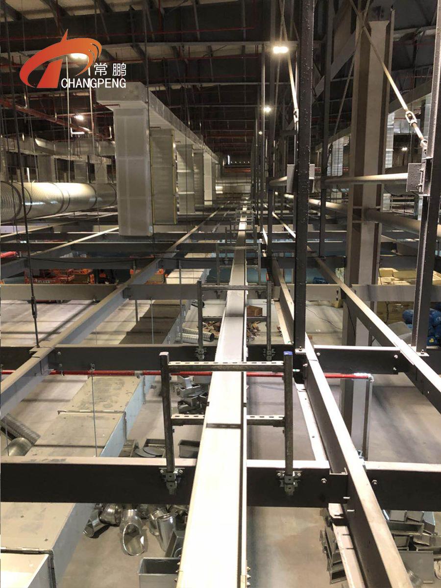 上海常鹏槽式桥架 抗震支架和钢结构工程展示图集