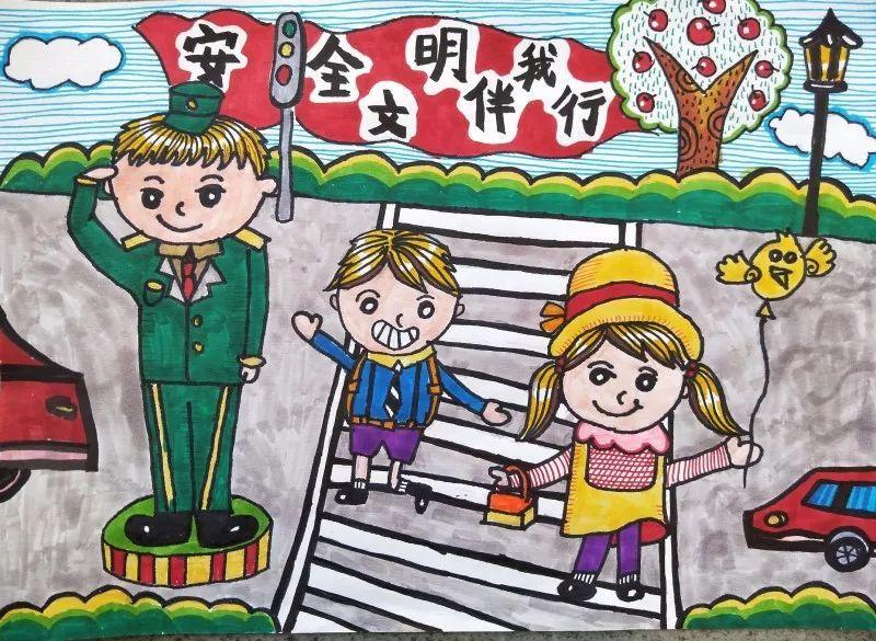 童画新时代 手绘价值观|孩子们眼里的核心价值观(作品图片