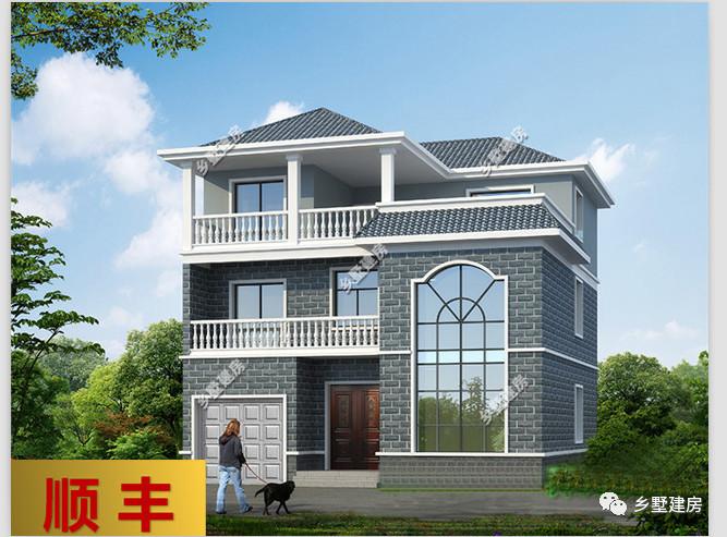 欧式三层别墅小洋楼精致实用,2018年流行的别墅自建的农村焦作图片