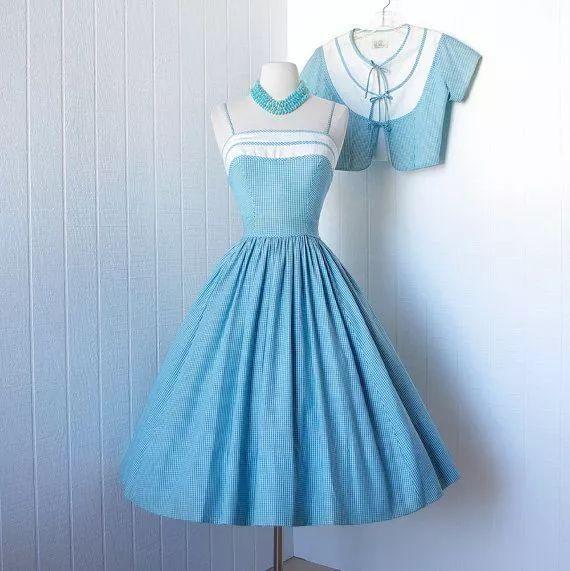 复古礼服裙| 1950'S,现在看依然很仙!2 作者:千叶老师 帖子ID:2709