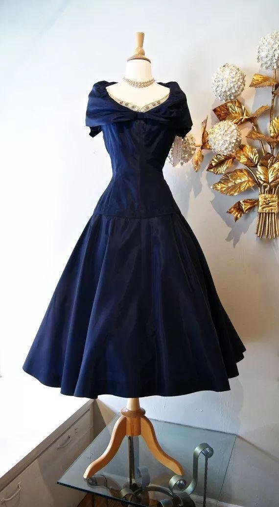 复古礼服裙| 1950'S,现在看依然很仙!19 作者:千叶老师 帖子ID:2709