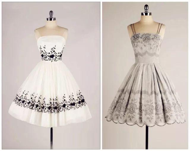 复古礼服裙| 1950'S,现在看依然很仙!79 作者:千叶老师 帖子ID:2709