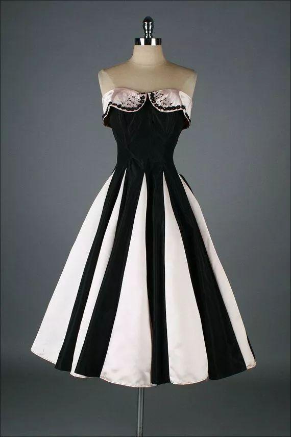 复古礼服裙| 1950'S,现在看依然很仙!50 作者:千叶老师 帖子ID:2709