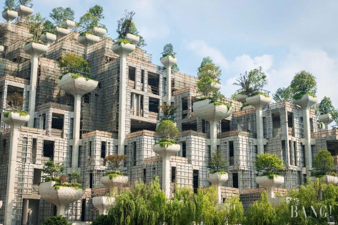 """上海惊现""""古巴比伦空中花园"""",这个设计也太""""洒脱""""了!图片"""