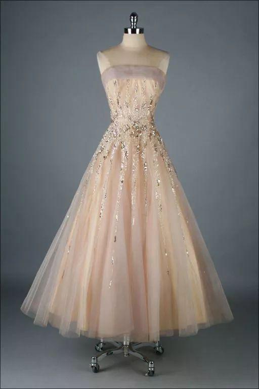 复古礼服裙| 1950'S,现在看依然很仙!45 作者:千叶老师 帖子ID:2709