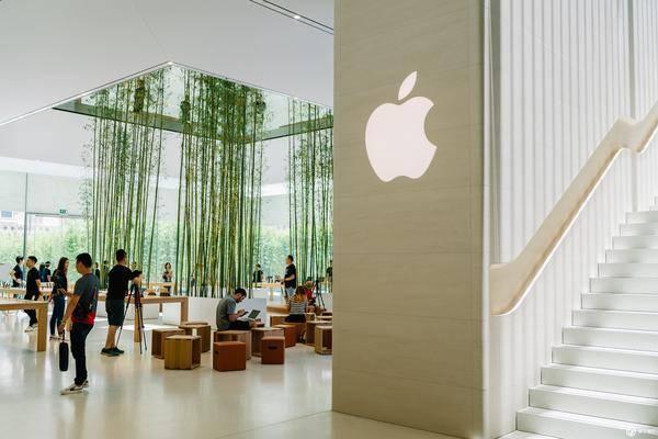 在开业之前,我们逛了逛澳门 apple store 金沙广场店