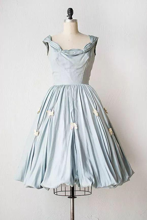 复古礼服裙| 1950'S,现在看依然很仙!87 作者:千叶老师 帖子ID:2709