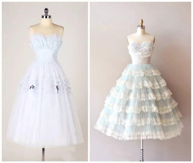 复古礼服裙| 1950'S,现在看依然很仙!32 作者:千叶老师 帖子ID:2709