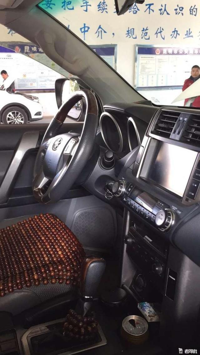 丰田超保值硬派车型外观比哈弗H9更虎实汉兰达性价比没它高_凤凰