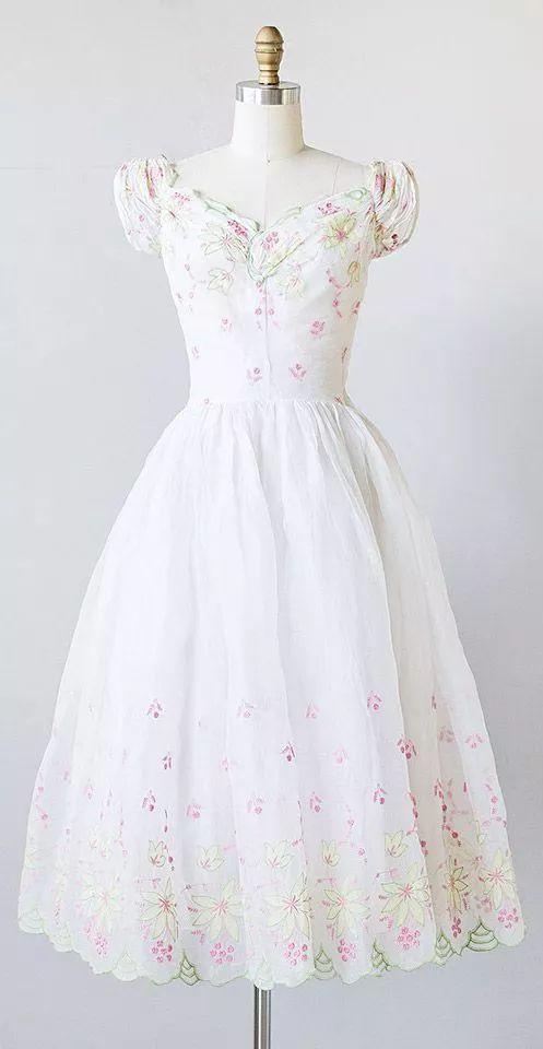 复古礼服裙| 1950'S,现在看依然很仙!17 作者:千叶老师 帖子ID:2709