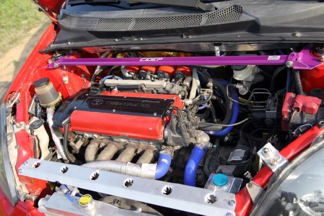 青岛车友将丰田威姿移植4A-GE引擎高转自吸才是真正的情怀