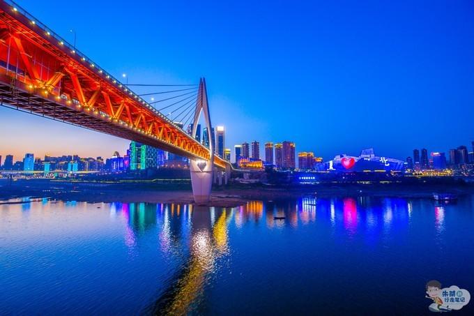 两天一夜打卡重庆两个网红景点:一个差点治愈我的恐高症一个夜色美的不像话