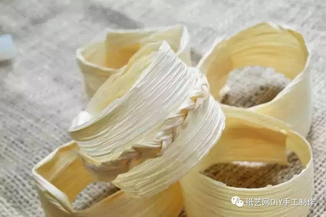 幼儿园玉米皮手工制作教程