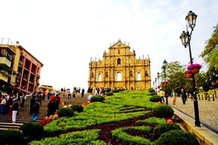 最著名的圣保禄教堂的前壁, 提到澳门, 人们总是联想到的是的du博天堂