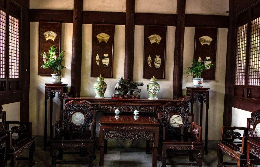 庄重典雅:古代大户人家的客厅