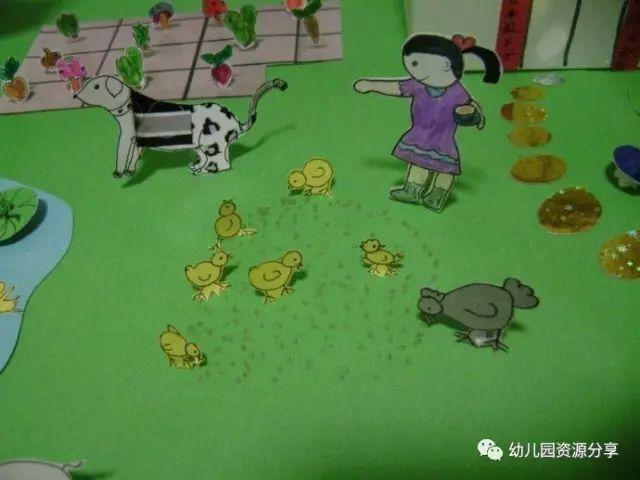 幼儿园手工——农家小院,厉害了,我的幼师!