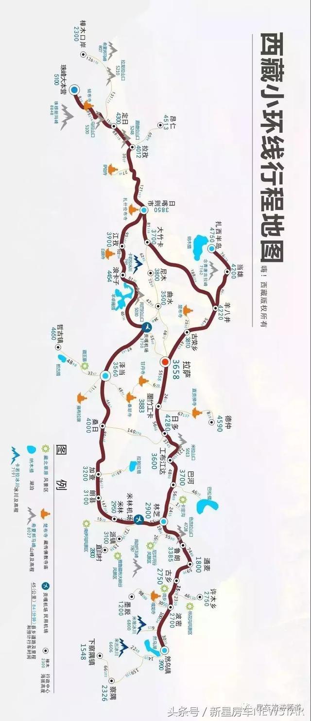 「建议收藏」2018中国拉萨房车旅游时间节点及路线图!